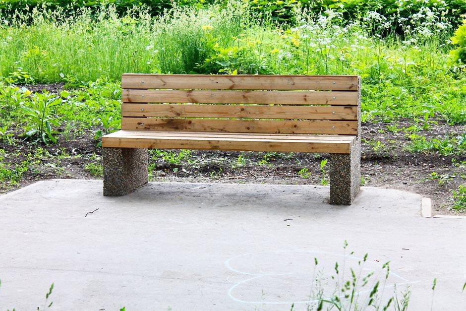 Скамья парковая